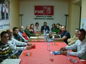 reunión en Pizarra