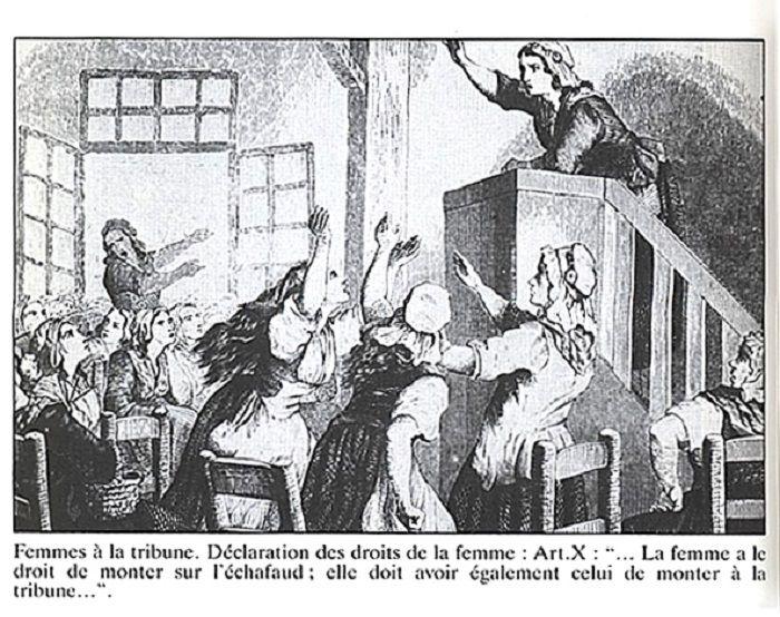 Declaración derechos mujer